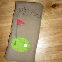 Golf mad glasses case