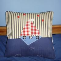 sail boat cushion