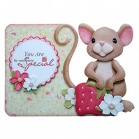 You Are So Very Berry Special Any Occasion or Valentine Luxury 3D Decoupage Card