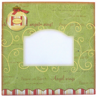 Pack of 5 Bauble Motif Christmas Envelopes 6 x 6 Inches for Card Makers