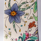 Floribundance ACEO ATC Original Small Art Zentangle Coloured Pencil Part 1 of 8