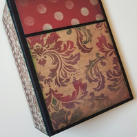 Handcrafted Photo Journal Scrapbooking Album Memory Book