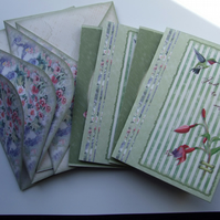 Hummingbird Stationery Notecards & Envelopes Refill Pack Note Cards
