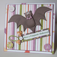 Fangtastic Halloween Twist and Pop Card Pop Up Card 3D Card