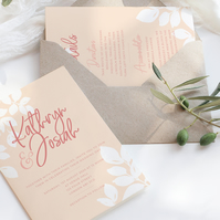 Blush wedding suite - DIGITAL ITEM
