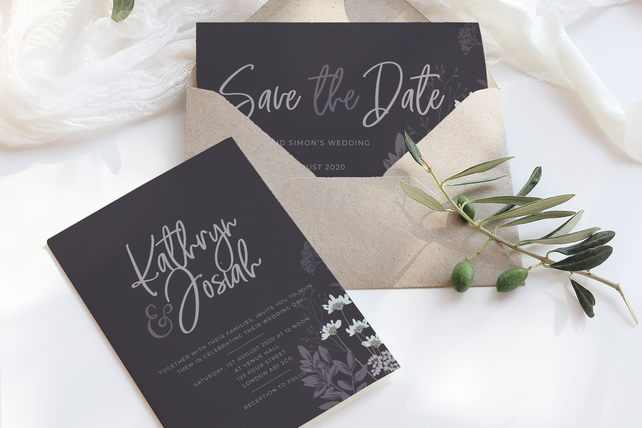 Dark theme wedding suite - DIGITAL ITEM