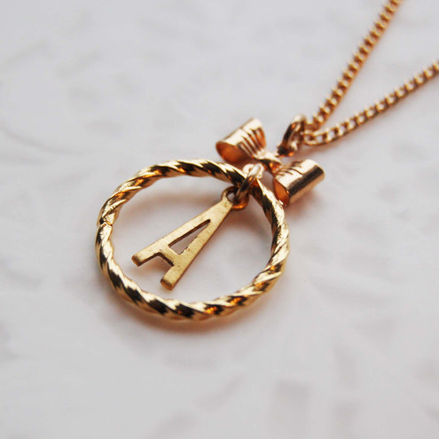 Initial Necklace - Choose your letter