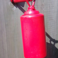 Up-cycled garden bell