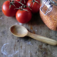 Handmade Kitchen Utensils Carved Spoons And Stamped