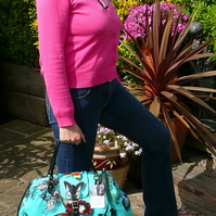 Overnight Bag Holdall Weekend Bag Butterfly Bag Christian Lacroix Designer Bag