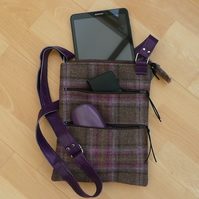 iPad Sleeve, Tablet Sleeve, Cross Body Bag, Zip top bag, Shoulder Bag, Handbag