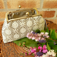 Lace Clutch bag evening bag prom bag wedding clutch bag shoulder bag