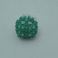 Green cocktail ring (292a)