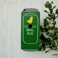 Beer Can Handmade Bird Box