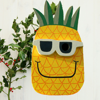 Pineapple Bird Box