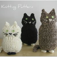 Cats PDF Knitting Pattern