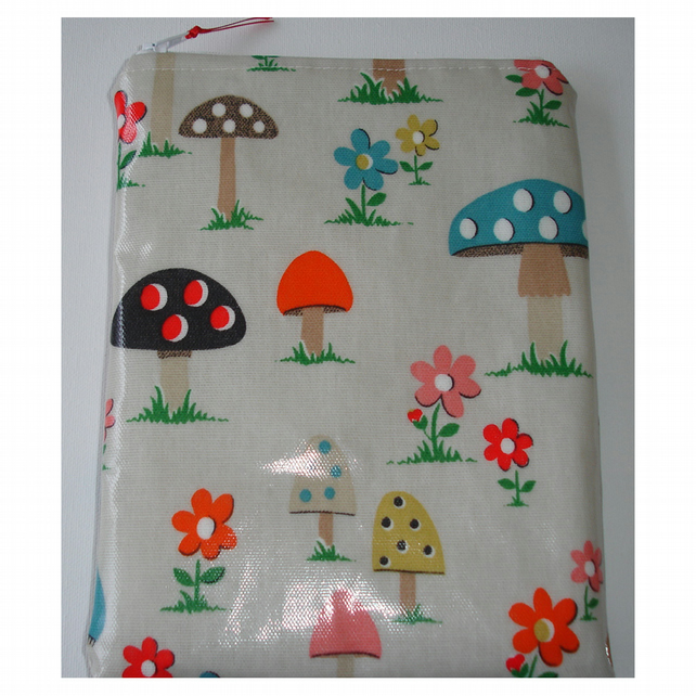Kindle Touch 6 Wi-Fi Paperwhite Sleeve Case Cover Cath Kidston Mushroom PVC