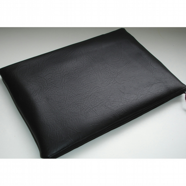 iPad Mini Tablet Case Black Faux Leather Leatherette