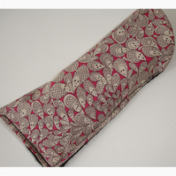 Glasses Case Liberty Cranford Grayson Perry Black Pink Grey Spectacles Sleeve