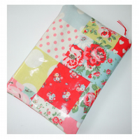 "Tablet or Kindle Fire HD HDX 7"" 7 Sleeve Case Cover Cath Kidston Patchwork PVC"