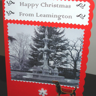 Christmas Card Sent From Leamington Ex-pat Greetings