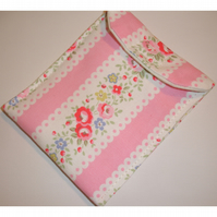 Glasses Case Cath Kidston Lace Fabric Pink