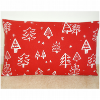 Oblong Bolster Christmas Cushion Cover