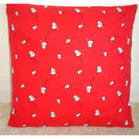 Cute Robin Christmas Cushion Cover Xmas