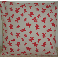 Christmas Cushion Cover Gingerbread Men