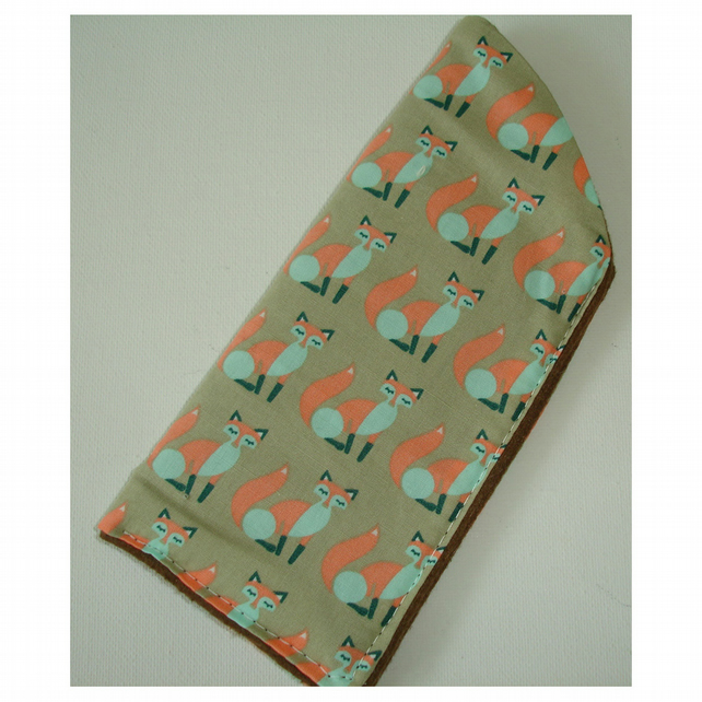 Fox Glasses Case Foxes Spectacles Sleeve