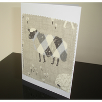 Sheep Notelet Card