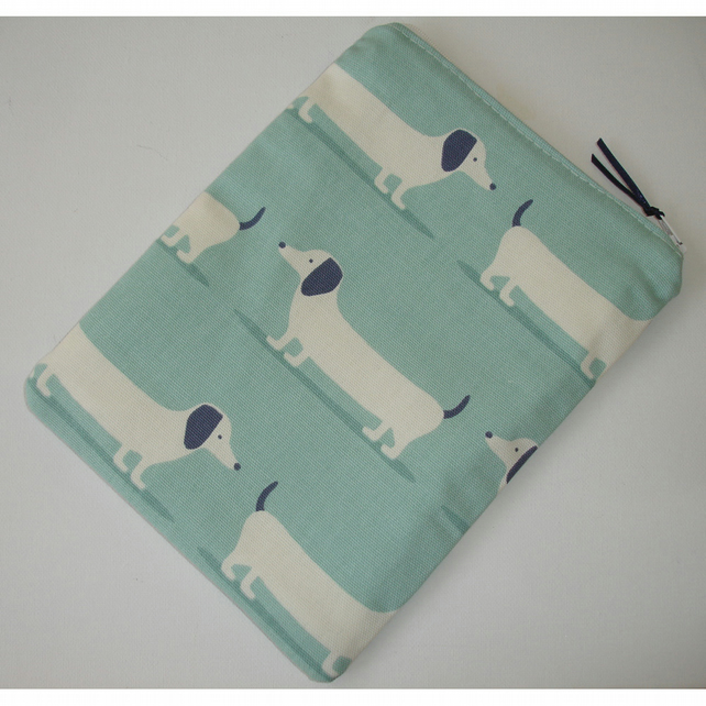 iPad Mini Tablet Pouch Case Cover Dachsund Sausage Dog Dogs Dachsunds