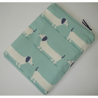 """Tablet or Kindle Fire HD or HDX 7 7"""" Case Dachsund Sausage Dog Dogs Dachsunds"""