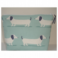 Large Dachshund Toiletries Bag Purse Dachshunds Sausage Dogs