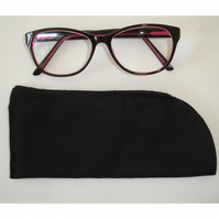 Black Glasses Sleeve Case