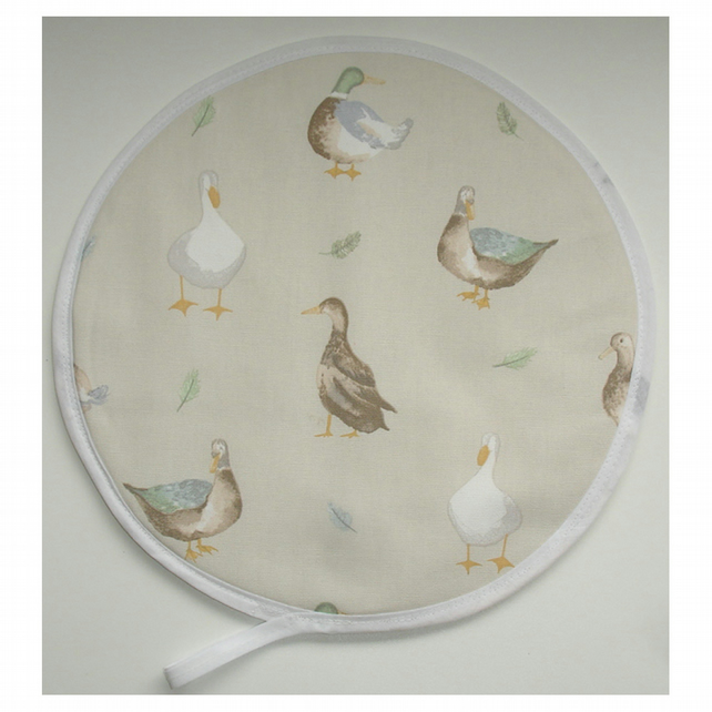 Aga Hob Lid Mat Pad Hat Round Cover Surface Saver Ducks