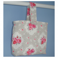 Pink Roses Wheelchair Handbag Zimmer Frame Walker Bag Caddy