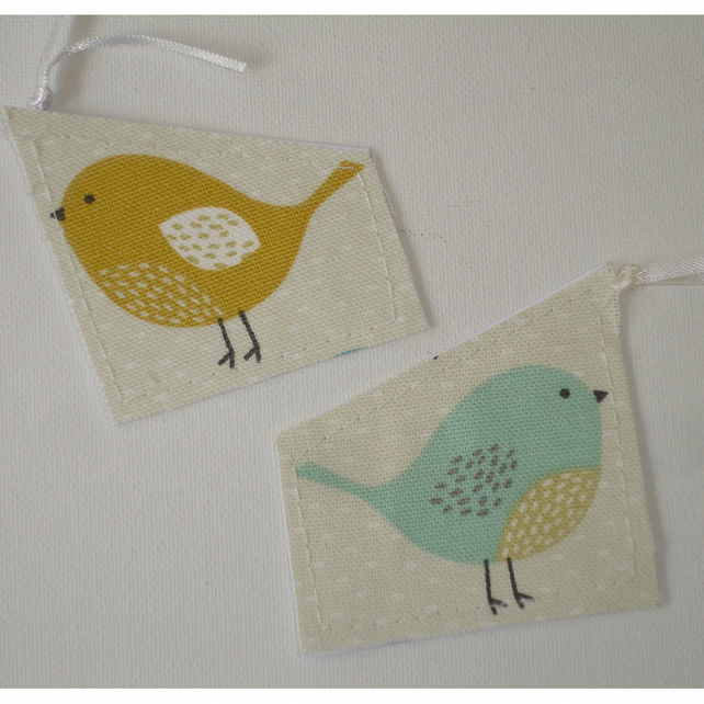 Two Bird Gift Tags
