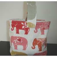 Elephant Wheelchair Handbag Zimmer Frame Walker Bag Caddy