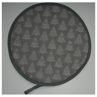 Christmas Trees Aga Hob Lid Mat Pad Hat Cover Surface Saver Xmas Hygge Tree