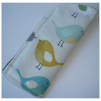 Kissing Birds Glasses Case Sleeve