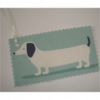 Dachshund Gift Tags Set of 3 x Tag