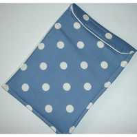 iPhone 6 Mobile Phone Case Indigo Blue Polka Dot