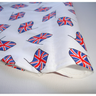 Union Jack Dog Bandana Over The Collar Scarf Olympics Flag
