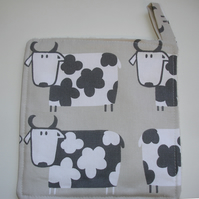 Bull Pot Holder Oven Grab Pad Kitchen Mat Cows Potholder Cow