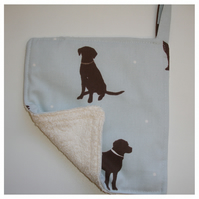 Labrador Dogs Pot Holder Potholder Duck Egg Grab Mat Pad Chocolate Brown Dog
