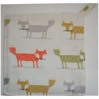 Fox Pot Holder Potholder Kitchen Grab Mat Pad
