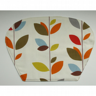 Wedge Placemat For Round Table Stem Leaves Place Mat