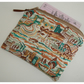 Liberty Fabric Coin Credit Card Purse Richard And Lyla London Sunflowers