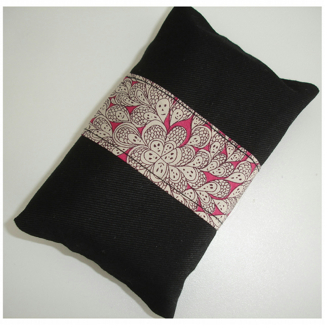 Pocket Tissue Holder Liberty Cranford Grayson Perry Pink Black